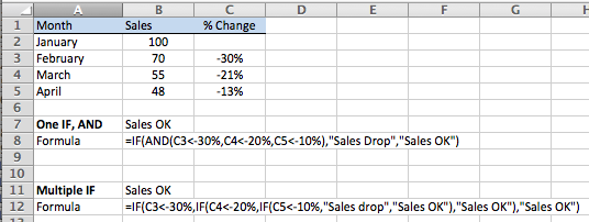 Using Multiple If Statements In Excel Learn Microsoft