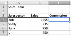 How to write a if statement in excel